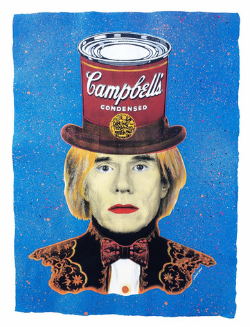ANDY WARHOL   CAMPBELL´S HAT (Blue)