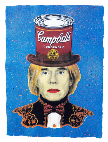 ANDY WARHOL | CAMPBELL´S HAT (Blue)