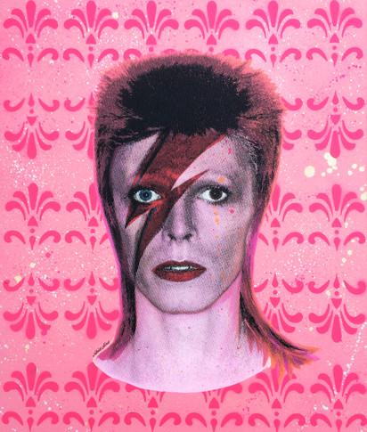 DAVID BOWIE (Pink)