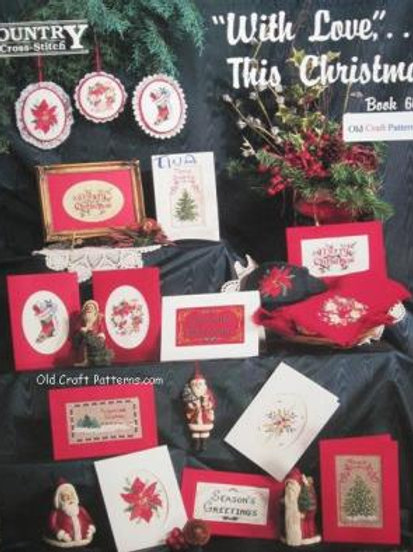 Country Cross Stitch 66. With Love This Christmas - Charts Patterns