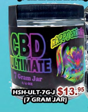 CBD ULTIMATE bud 7g jar