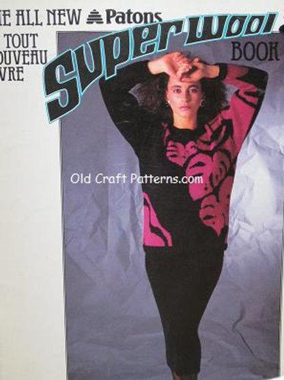 Patons 513 Superwool - Sweater Patterns