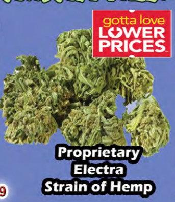 ELECTRIC REALITY bud 3.5 gram jar