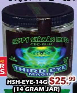 THIRD EYE MAGIC bud 14 gram jar