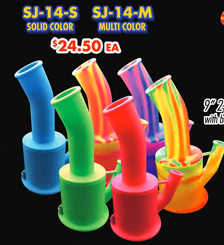 SABERTOOTH WATERPIPES SILICONE