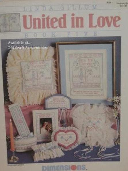 Dimensions 128. United in Love Book 5 by Linda Gillum - Cross Stitch Patterns