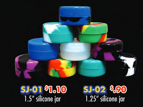 SILICONE JARS 1.25INCH