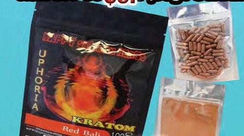 KRATOM Red Bali 100 gram powder