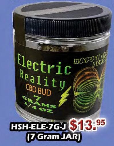 ELECTRIC REALITY bud 7 gram jar