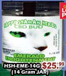 EMERALD ENLIGHTENMENT bud 14 gram -1/2oZ