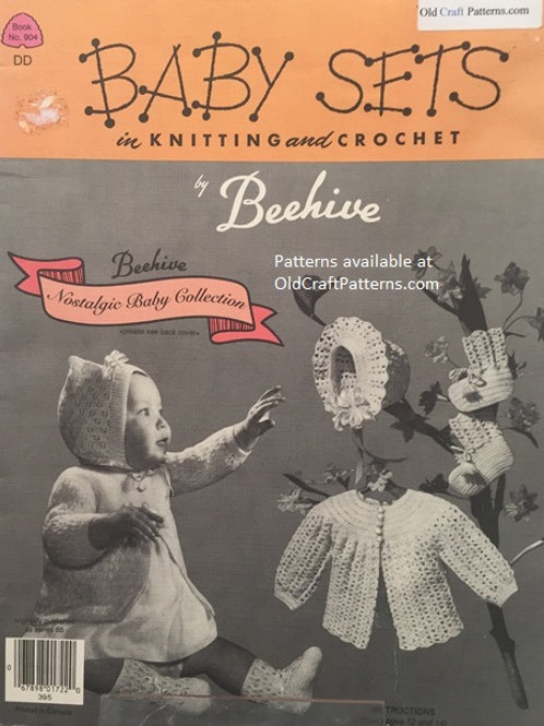 Patons 904. Baby Sets in Knitting and Crochet - Pattern Book