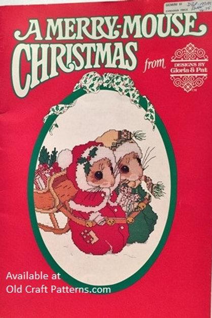 Gloria & Pat - A Merry Mouse Christmas - Cross Stitch Patterns Charts