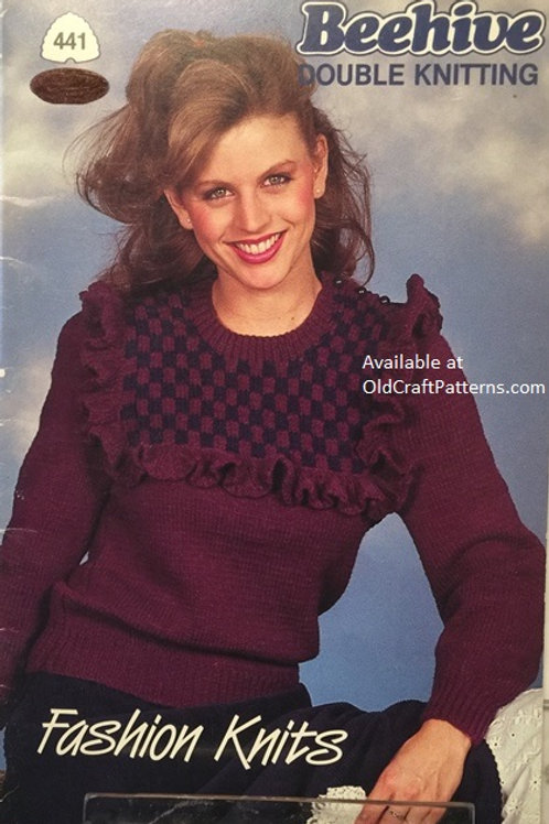 Patons 441. Fashion Knits in Double Knitting Patterns