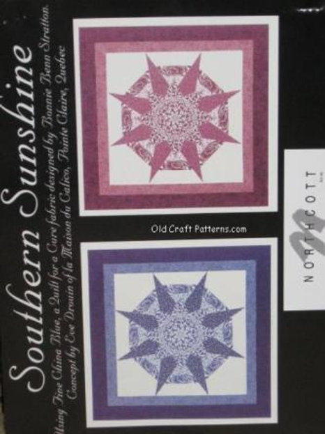 621. Northcott Southern Sunshine Quilting Pattern
