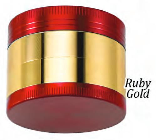 Sabertooth Chromium Grinder RUBY GOLD