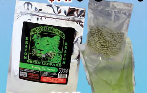 KRATOM Maeng Da Green 500 gram powder