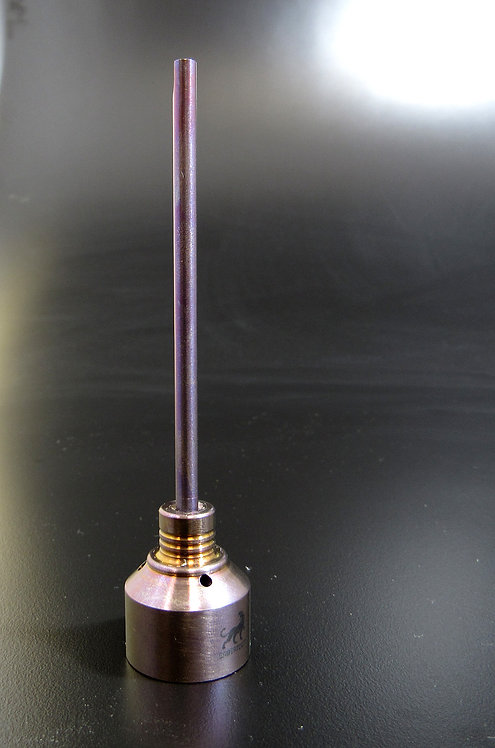 Opal/Purple Anodized Ti Cap SAB369-OPAL