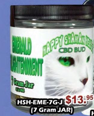 EMERALD ENLIGHTENMENT bud 7gram jar