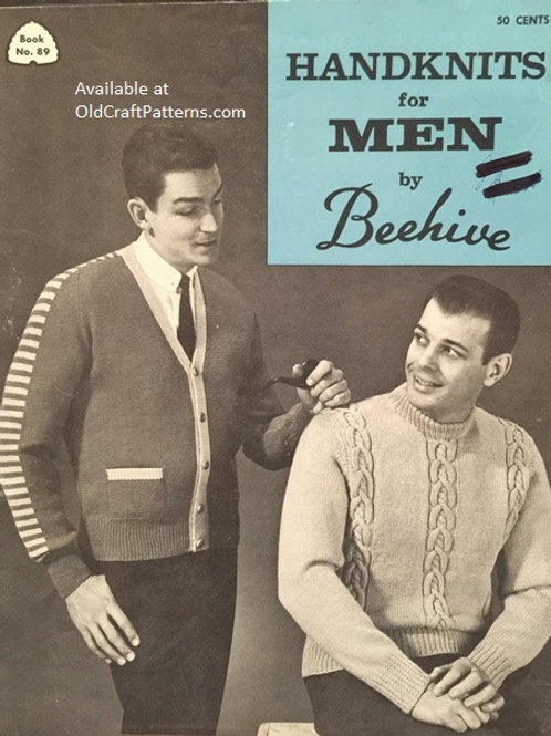 Patons 89. Handknits for Men by Beehive - Knitting Patterns