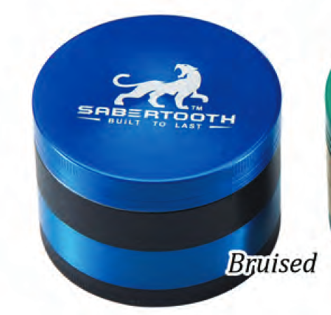 Sabertooth Chromium Grinder BRUISED