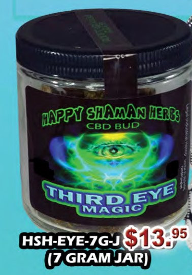 THIRD EYE MAGIC bud 7 gram jar