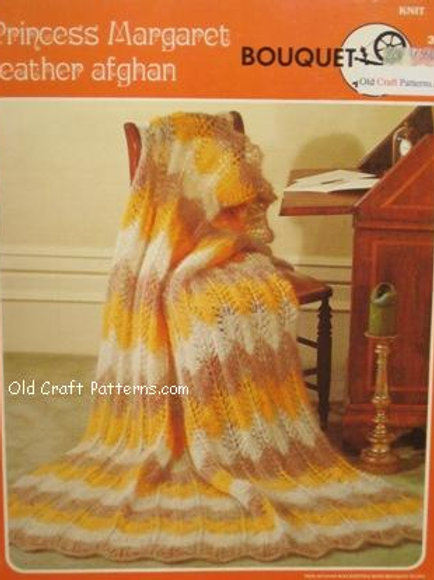 Bouquet 361. Princess Margaret Feather Stitch Knitting Pattern