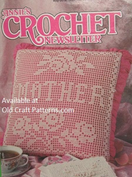 Annies Crochet Newsletter # 63. Crochet 12 Patterns