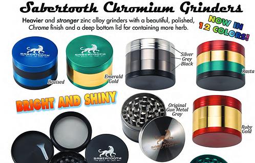 CASE OF 25 Sabertooth Chromium Grinders