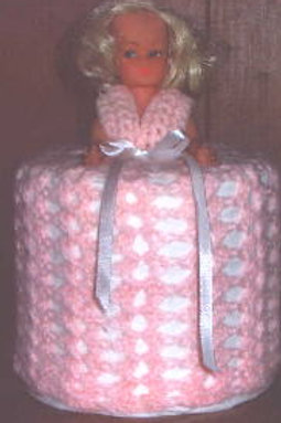 Free Pattern for Doll Tissue Cover