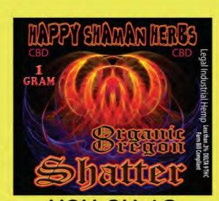 CBD SHATTER 1 GRAM