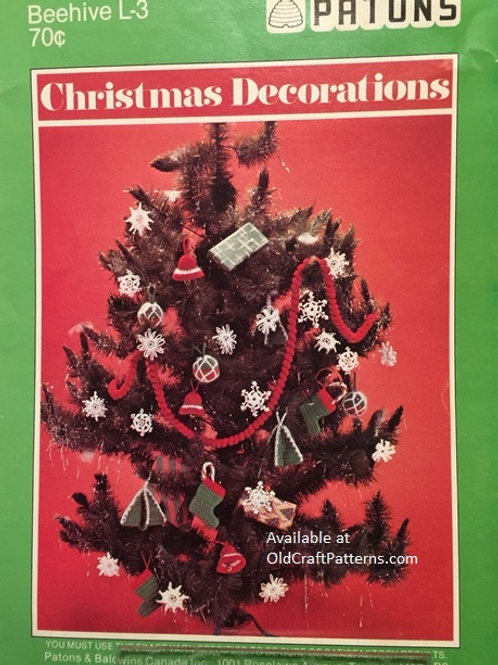Beehive L-3. Christmas Decorations - Crochet Patterns