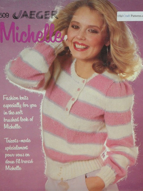 Patons 509 Michelle Fashion Knits Ladies Patterns