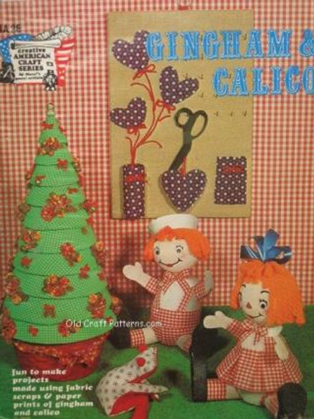 HA 26. Gingham & Calico Fun Projects to Make - Craft Patterns