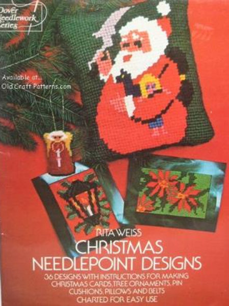 Dover 486. Christmas Needlepoint Designs by Rita Weiss
