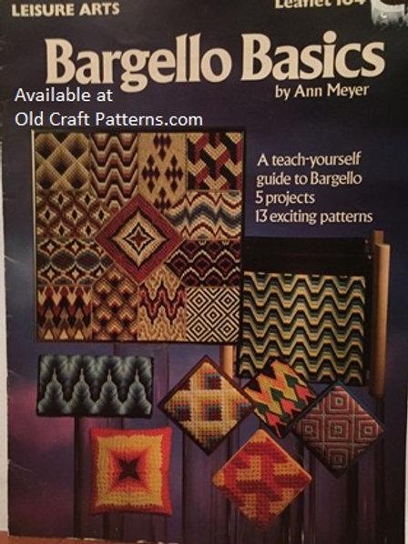 Leisure Arts 104. Bargello Basics - 5 Projects - 13 Patterns