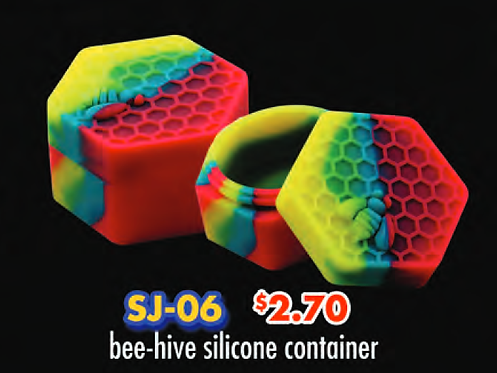 SILICONE BEE-HIVE container