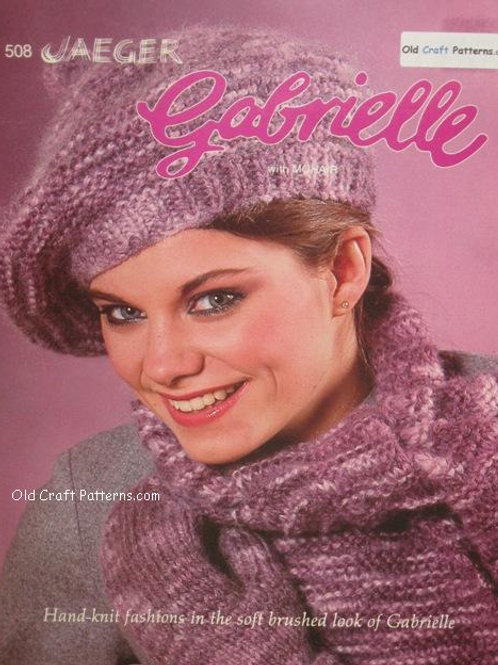 Patons 508 Mohair Tops Knitting Patterns