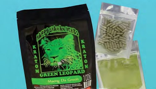 KRATOM Maeng Da Green 100 gram powder