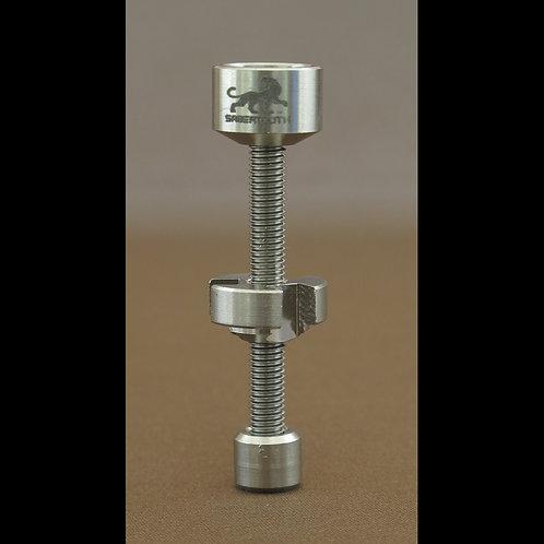 Adjustable 18mm Titanium nail SAB-51