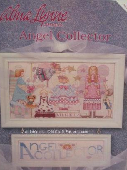 Alma Lynne 126. Angel Collector Cross Stitch Charts Patterns