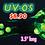 "Thumbnail: ORIGINAL UV by SABERTOOTH made in USA 3.5"" handpipe"