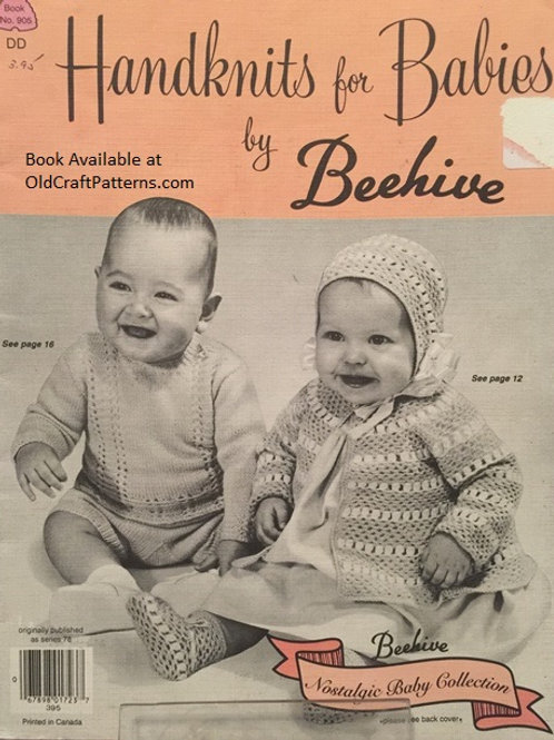 Patons 905. Handknits for Babies by Beehive - Crochet & Knitting Patterns