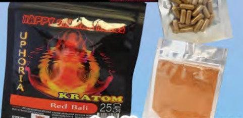 KRATOM Red Bali 25 capsules