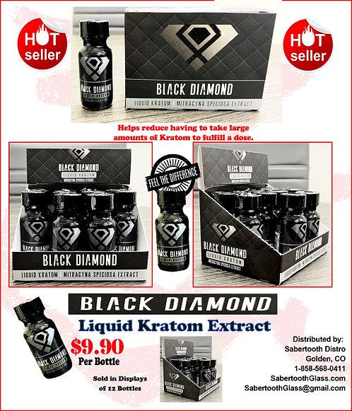 BLACK DIAMOND LIQUID KRATOM EXTRACT
