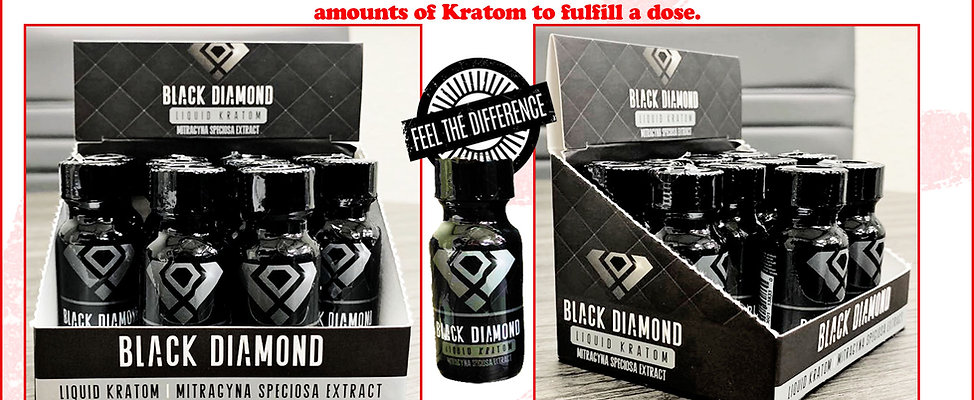 BLACK DIAMOND LIQUID KRATOM EXTRACT