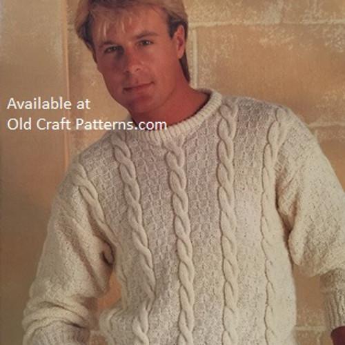 Aran Knitting Or Arran Crochet Patternsoldcraftpatterns
