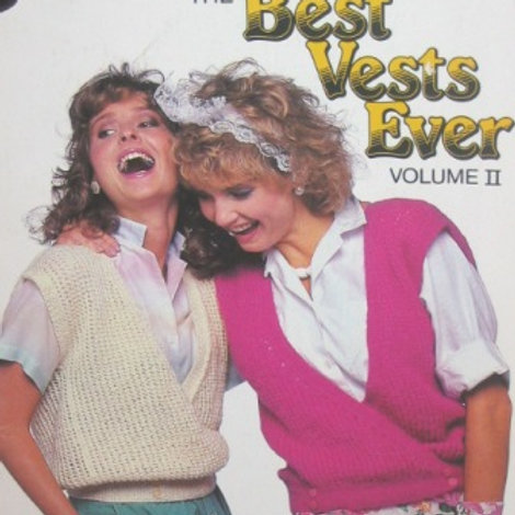 Patons 468. Best Vests Ever - Volume 2 - Cardigans Pullovers Knitting Patterns