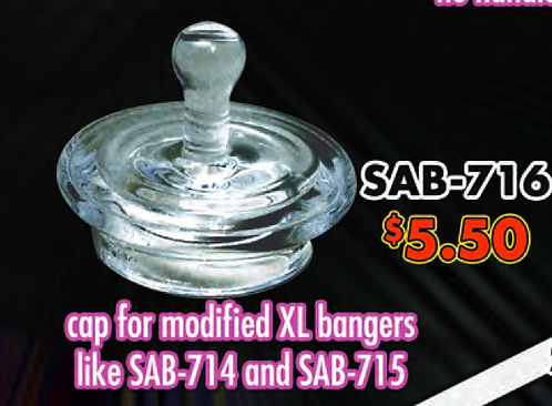 SAB-716 Quartz Cap for XL bangers