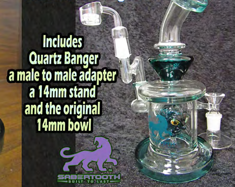 SABERTOOTH GREEN DUDE RIG MIX 14mm
