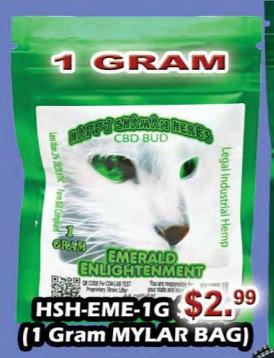 EMERALD ENLIGHTENMENT bud 1 gram -1/2oZ